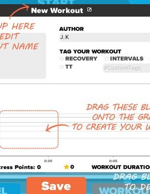 Custom Workout Creation