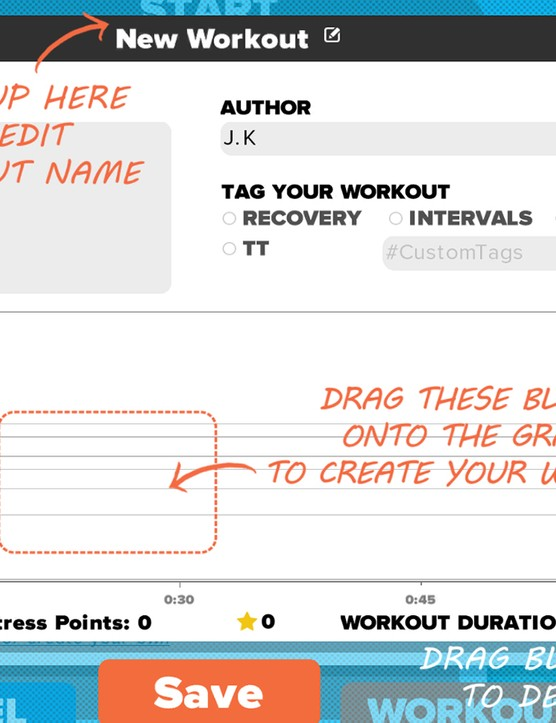 Custom Workout Creation
