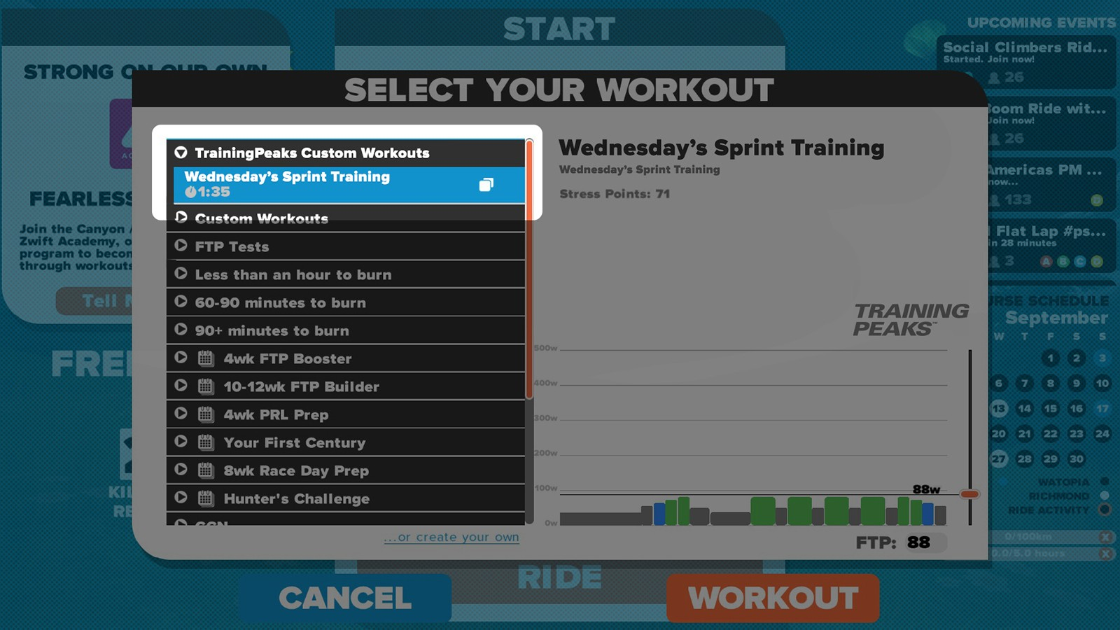 Getting the most out of structured training on Zwift - BikeRadar