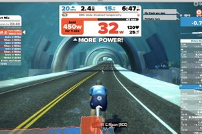 As with Zwift in general you can ride with most any trainer, but a smart trainer enlivens the training, creating the specified resistance for each interval. Should you fail substantially to hit the power targets after 7-10 seconds, the ERG mode will be disabled so you can pedal freely