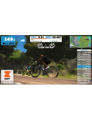 Zwift makes indoor training a pleasure rather than a chore