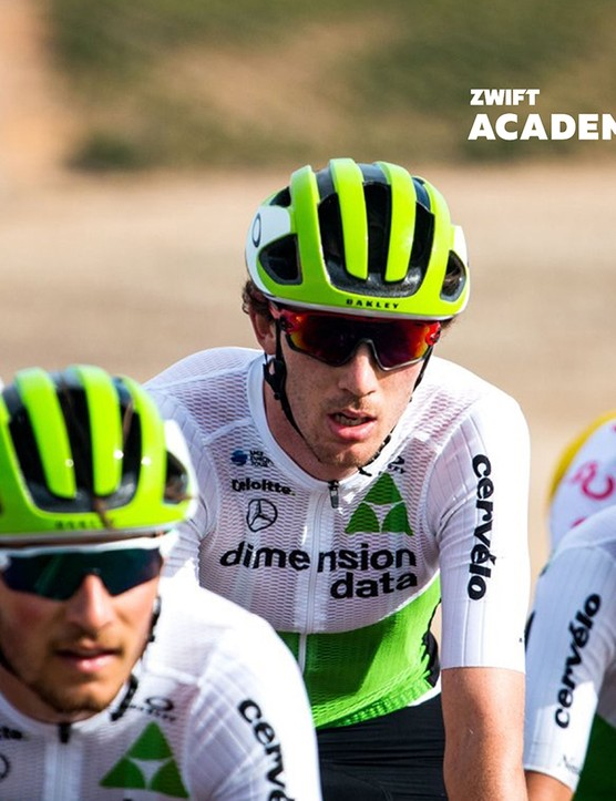 Ollie Jones won the Team Dimension Data contract last year