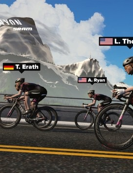 Erath completed her medical studies while competing in Zwift Academy last year