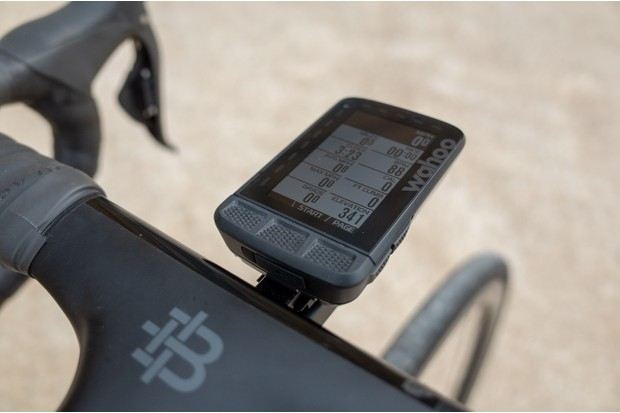 Three main buttons on the face of the GPS are used to control most features