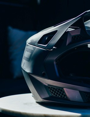 The Fox Rampage Pro Carbon is its latest full-face lid