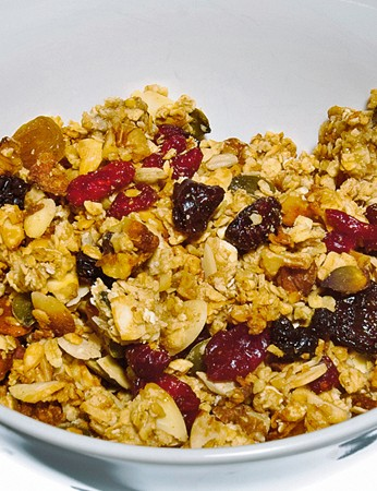 Vanilla spiced nut and seed granola