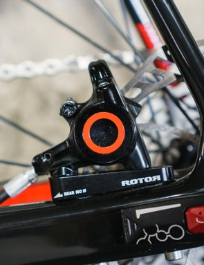 I found the groupset's braking to be excellent