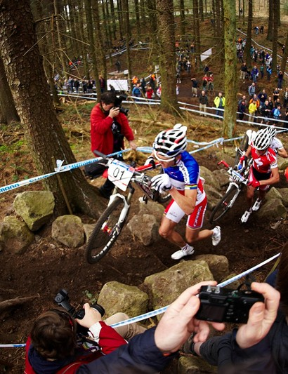 Dalby's a great place for spectating – and for snapping some up-close action shots