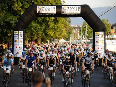 600 amateurs will line up on 19 August in Geneva for the second Haute Route