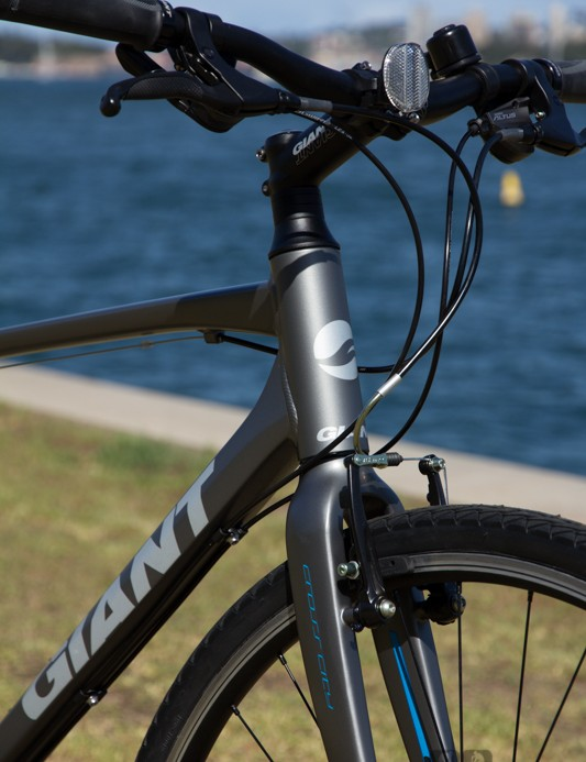 Giant Escape 1 2014 - carbon composite fork and aluminum frame