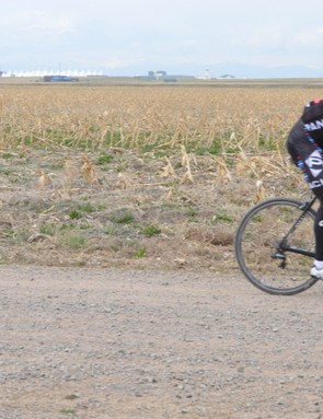 The clothing company Panache hosted The Mustang Ride, a 100-mile plus gran fondo of sorts with multiple 'game on' racing sections across dirt. While many of our friends on skinnier clinchers and even tubulars flatted, we sailed through on the Sectors