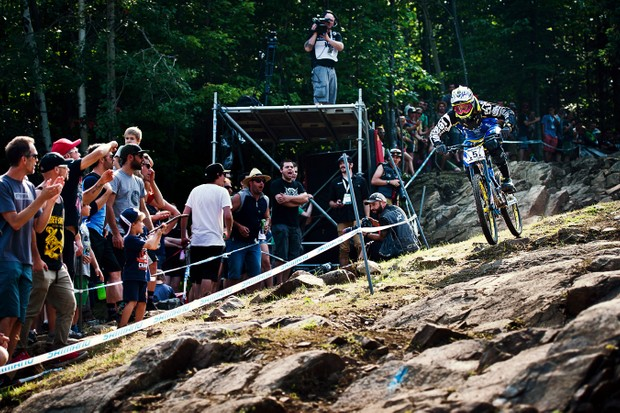 It was the comeback we'd all been waiting for - Sam Hill took the top step in MSA after a four-year wait