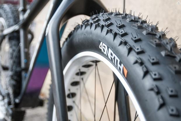 45NRTH fat bike tyre