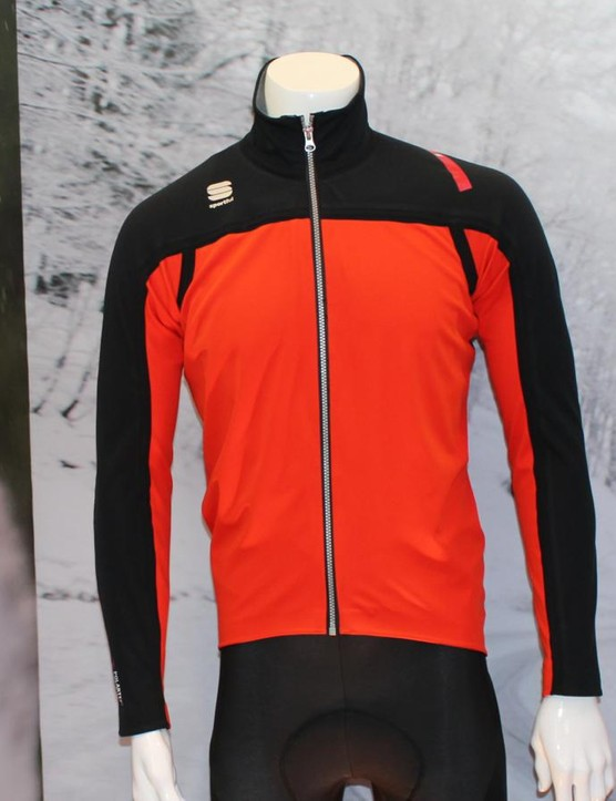 Polartec's NeoShell fabric is employed in Sportful's Extreme NeoShell jacket