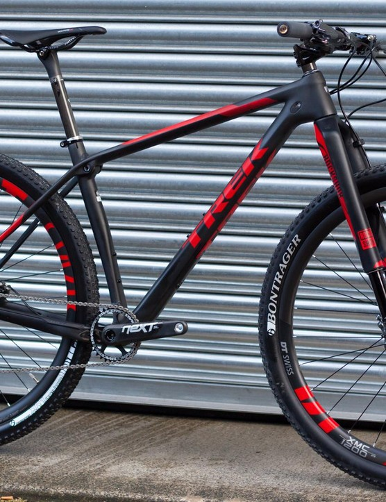 The Trek Procaliber 9.9 SL is a bloody good looking bike