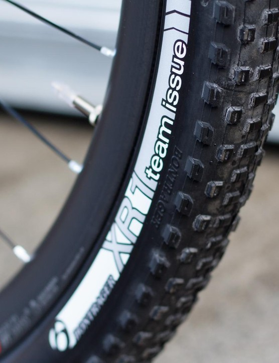 XR Team Issue tubeless rubber from in-house brand Bontrager