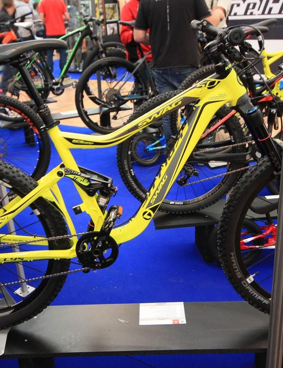 Kellys Swag – sounds like a rapper, actually a 160mm enduro bike from Slovakia