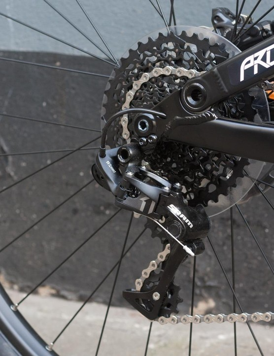 We are pleased to see SRAM X1 but we'd have maybe gone for GX and saved some cash