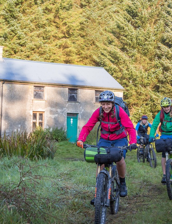 Staying in a bothy is the perfect mini adventure for mountain bikers.