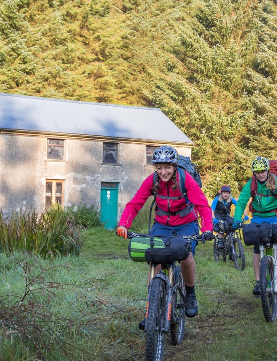 Staying in a bothy is the perfect mini adventure for mountain bikers