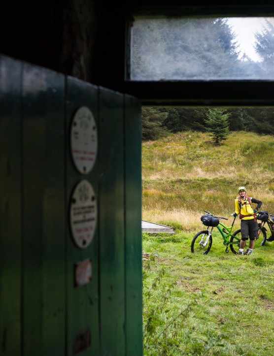 You may have the bothy to yourself, or you may end up sharing – either way, it's all part of the fun