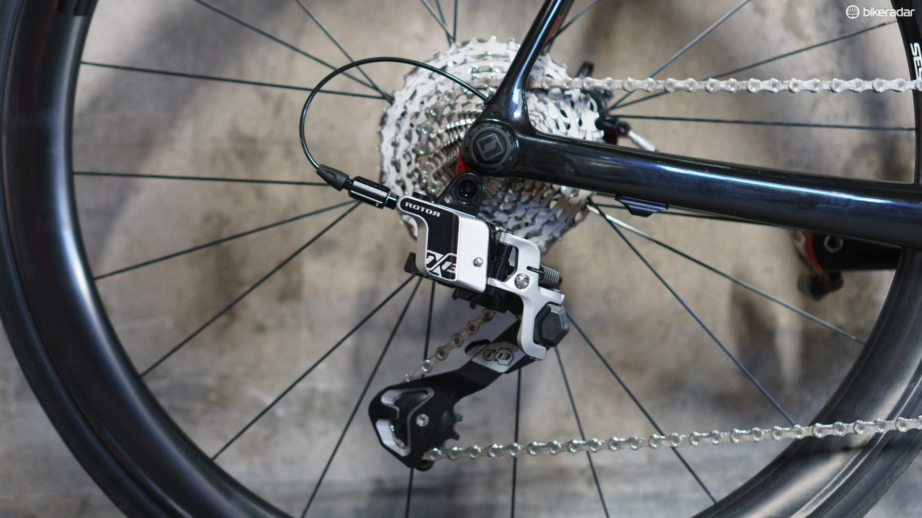 The groupset isn't perfect but that didn't stop me enjoying using it