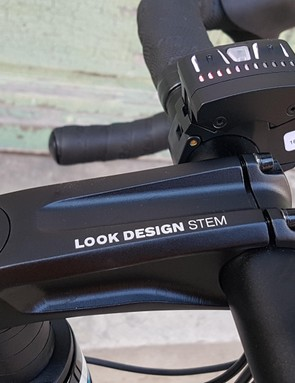 Look design the front of its bikes as a whole package - fork, steerer, head tube, stem and bar are all integral to the front end feel
