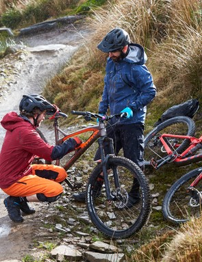 Testing at Bike Park Wales: before heading to Italy we put in countless hours riding on home soil