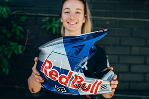 Tahnee Seagrave has hers all Red Bull'd up already