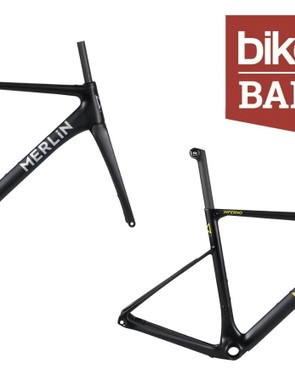 Grab a serious bargain with this carbon disc road frameset from Merlin Cycles
