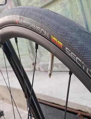 Look specs 32mm wide Hutchinson Sector tyres