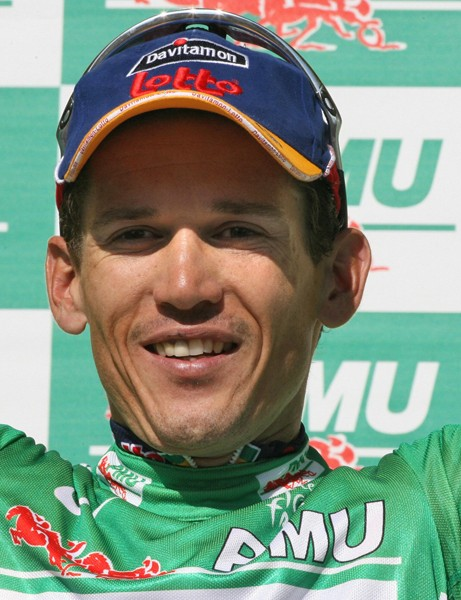 Another green jersey for Robbie McEwen?