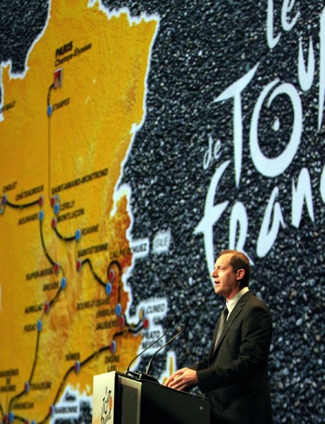 Christian Prudhomme presents the 2008 Tour de France