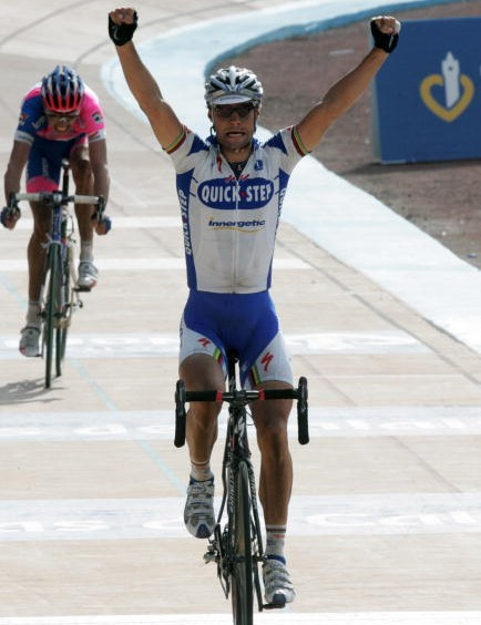 Boonen wins his second Paris-Roubaix.