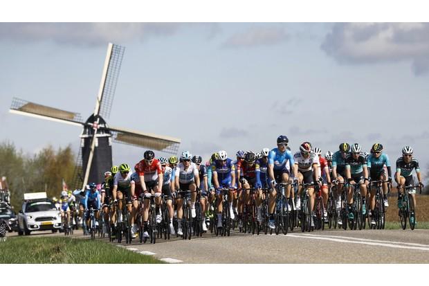 Amstel Gold Race peloton