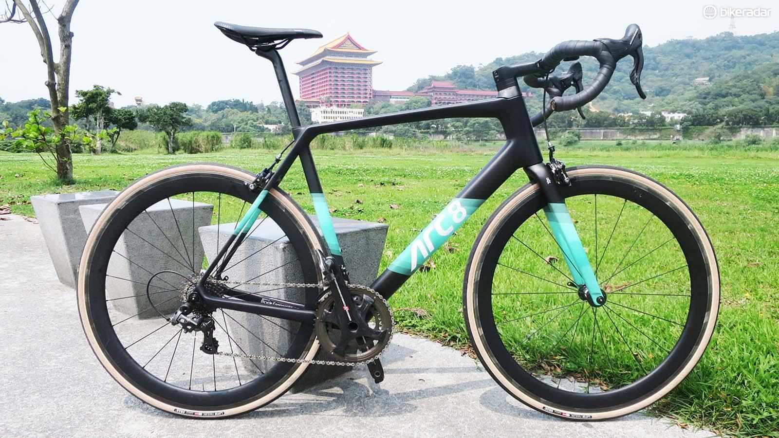 Arc8's debut road bike the Escapee