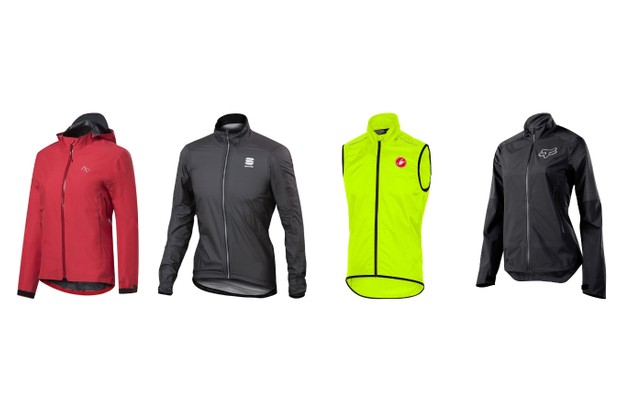Cycling jackets and vests