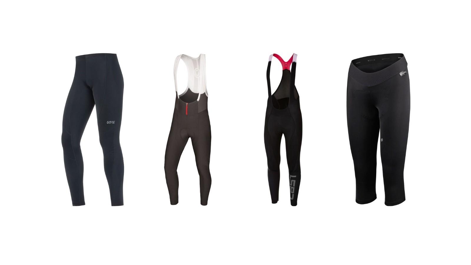 Cycling leggings and bib tights