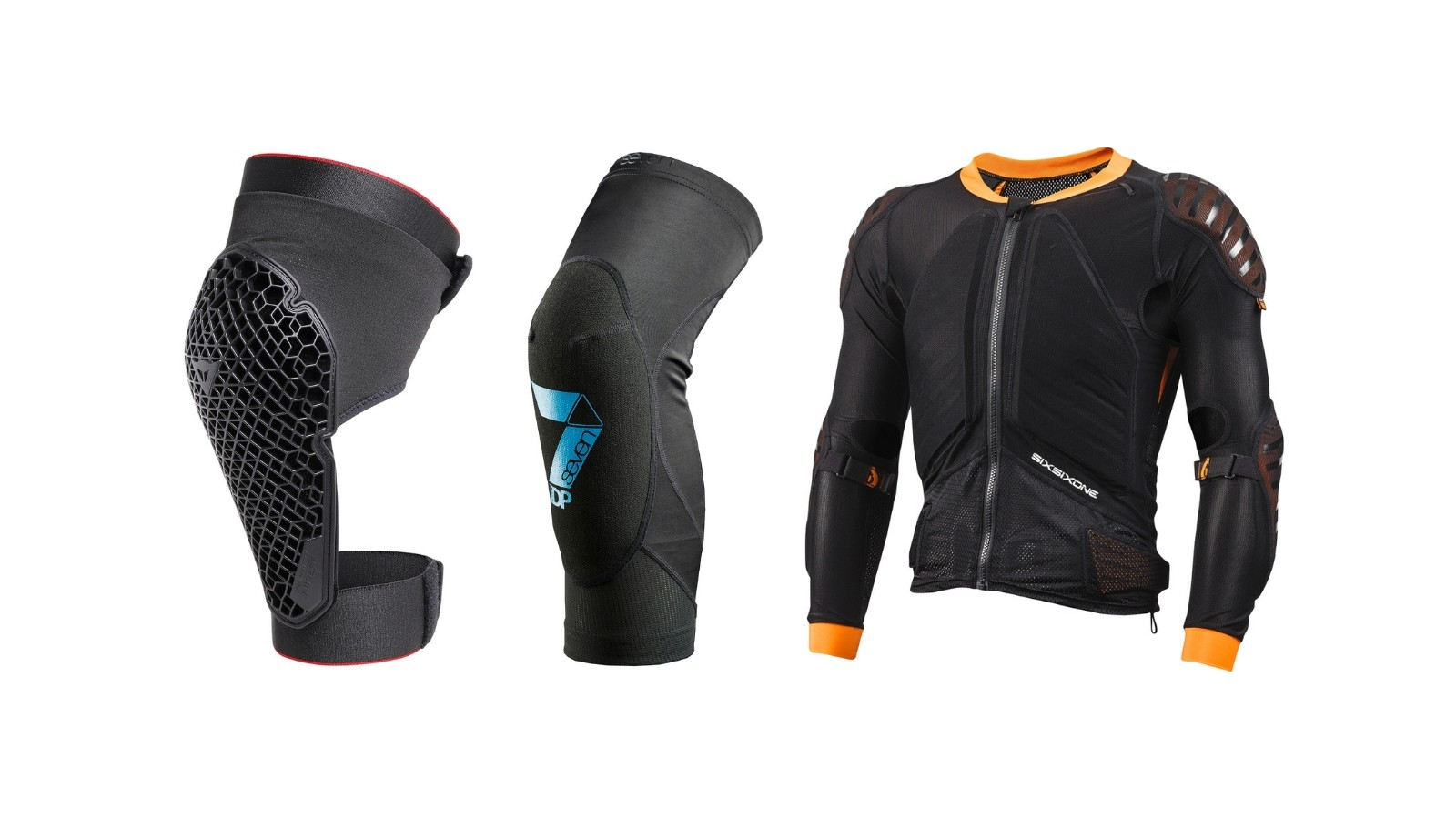 Cycling MTB armour and pads