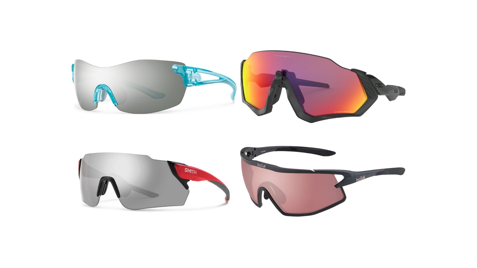 Cycling sunglasses and goggles