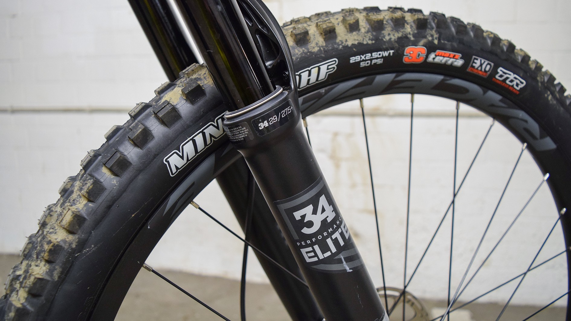 Fox 34 Elite forks