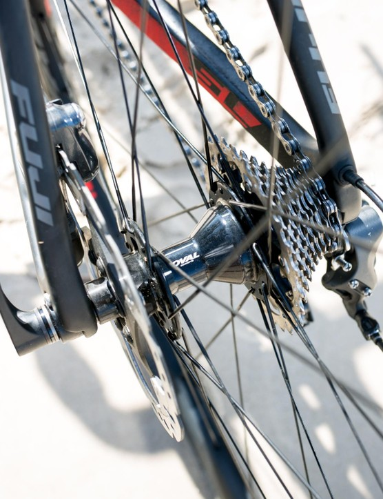 Shimano cassette and rotor