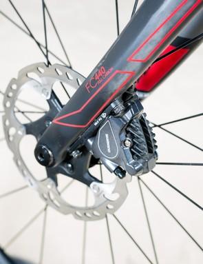 Shimano R-805 hydraulic disc brakes