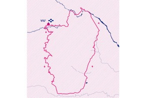 Giro Rosa 2019 stage 2 route map