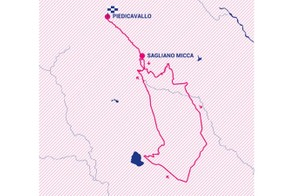 Giro Rosa 2019 stage 3 route map