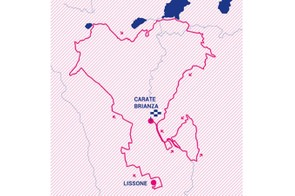 Giro Rosa 2019 stage 4 route map