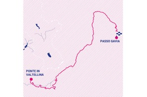 Giro Rosa 2019 stage 5 route map