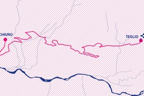 Giro Rosa 2019 stage 6 route map