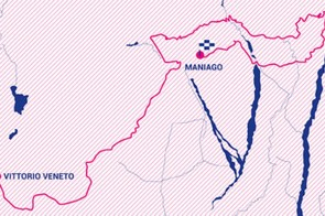 Giro Rosa 2019 stage 8 route map