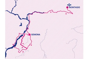 Giro Rosa 2019 stage 9 route map